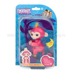 Обезьянка Fingerlings Monkey NO.3700-3705 красная