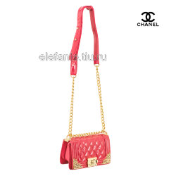 Сумка CHANEL #1107S coral lacquer