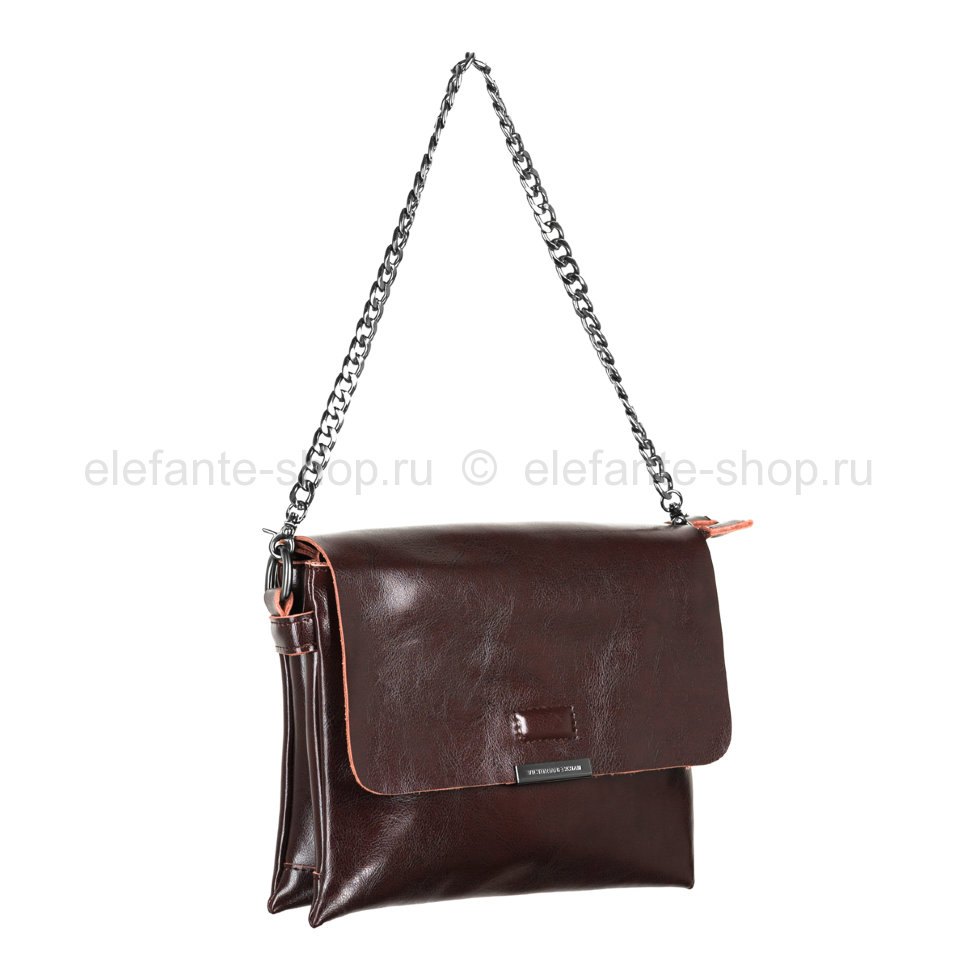 "Сумка ""Victoria Beckham"" #391 dark brown"