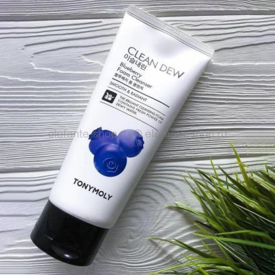 Пенка Tony Moly Clean Dew  Blueberry Foam Cleanser (125)