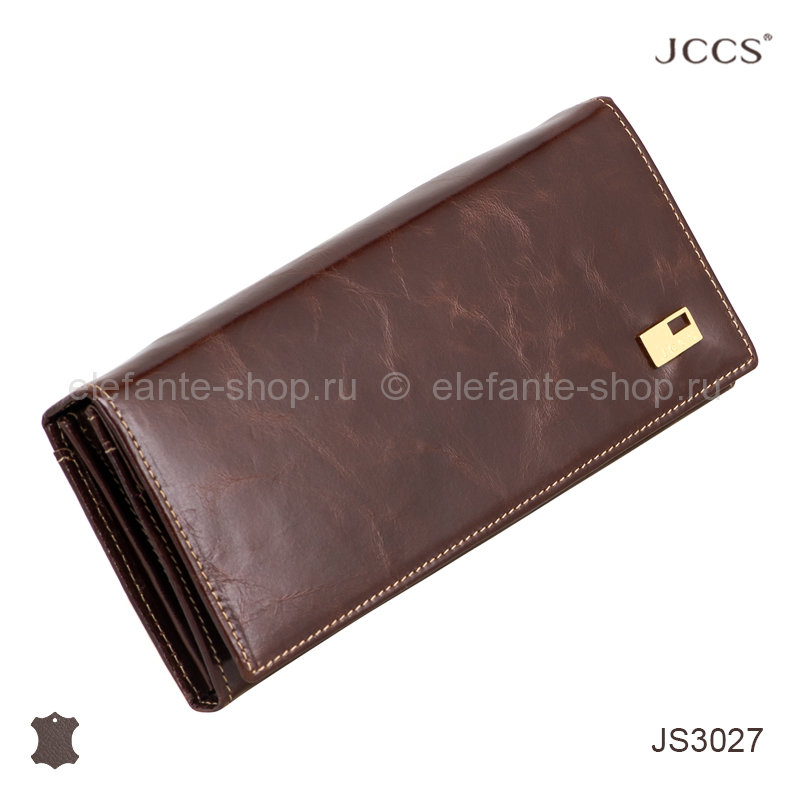 Кошелёк JCCS #3027 dark brown