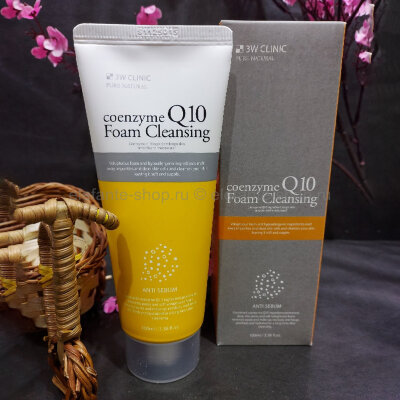 Пенка для умывания 3W Clinic Coenzyme Q10 Foam Cleansing Anti-Sebum (78)