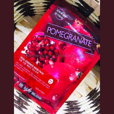 Тканевая маска May Island Real Essence Mask Pack Pomegranate (125)
