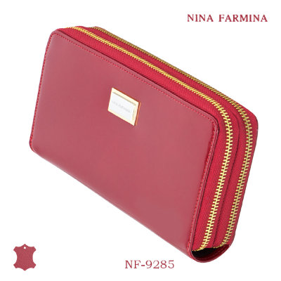 Кошелёк Nina Farmina #NF-9285 red лак