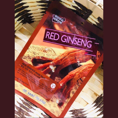 Тканевая маска May Island Real Essence Mask Pack Red Ginseng (125)