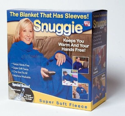 Плед с рукавами Snuggie TV-BL TDK-077