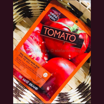 Тканевая маска May Island Real Essence Mask Pack Tomato (125)