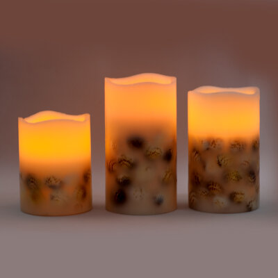 Набор свечей Casa Blanco Flameless Led Candles