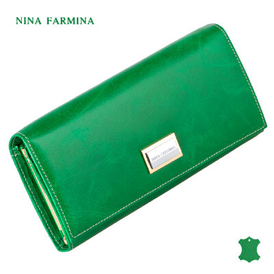 Кошелёк Nina Farmina NF-9281J dark green