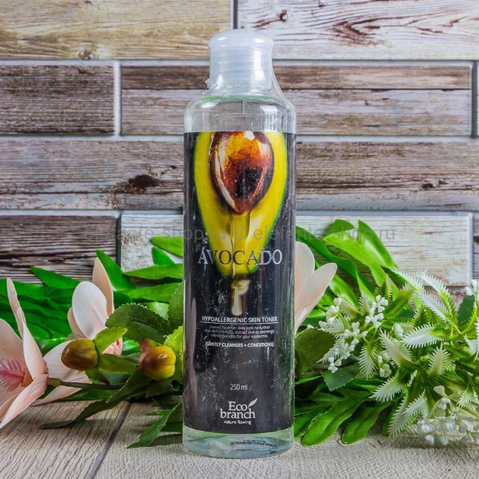 Тонер ECO BRANCH AVOCADO, 250 ml (125)
