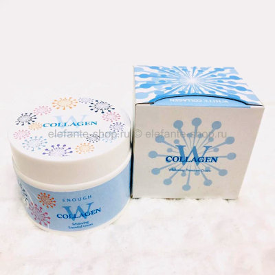 Крем Enough Collagen Whitening Essential Premium Cream (125)