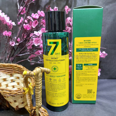 Тонер 7 Days Secret Centella Cica Toner, 155 мл (78)