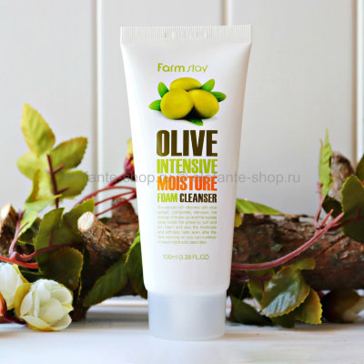 Пенка Farm stay OLIVE Intensive Moisture Foam (78)