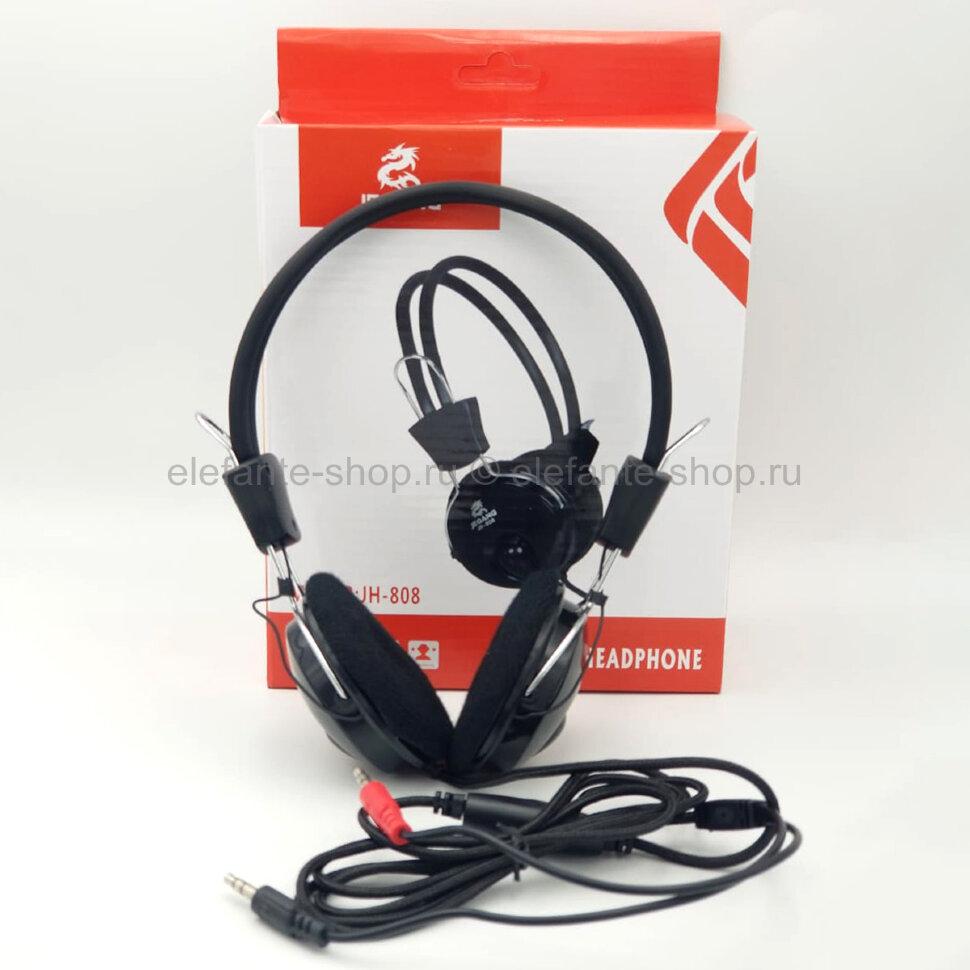 Проводные наушники Jeqang JH-808 Black (15)