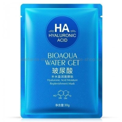 Bioaqua Маска с Гиалуроновой кислотой Hyaluronic Acid Water Get Mask