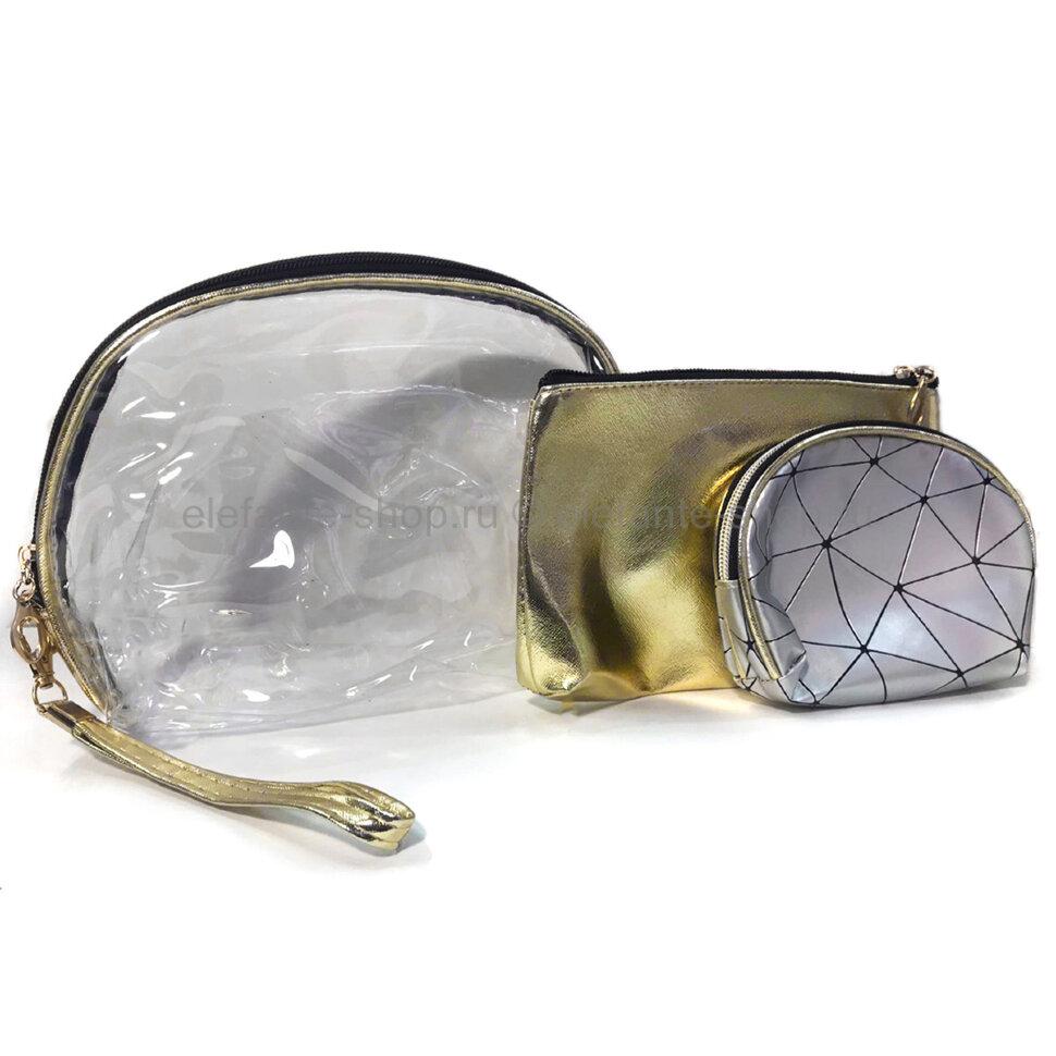 Набор косметичек 3в1 Silver (106)