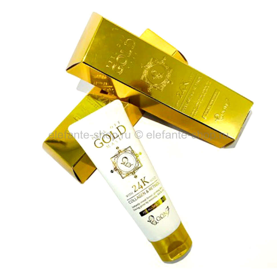 Маска-пленка для лица Boon7 Peel Off Gold Mask Collagen & Retinol (78)