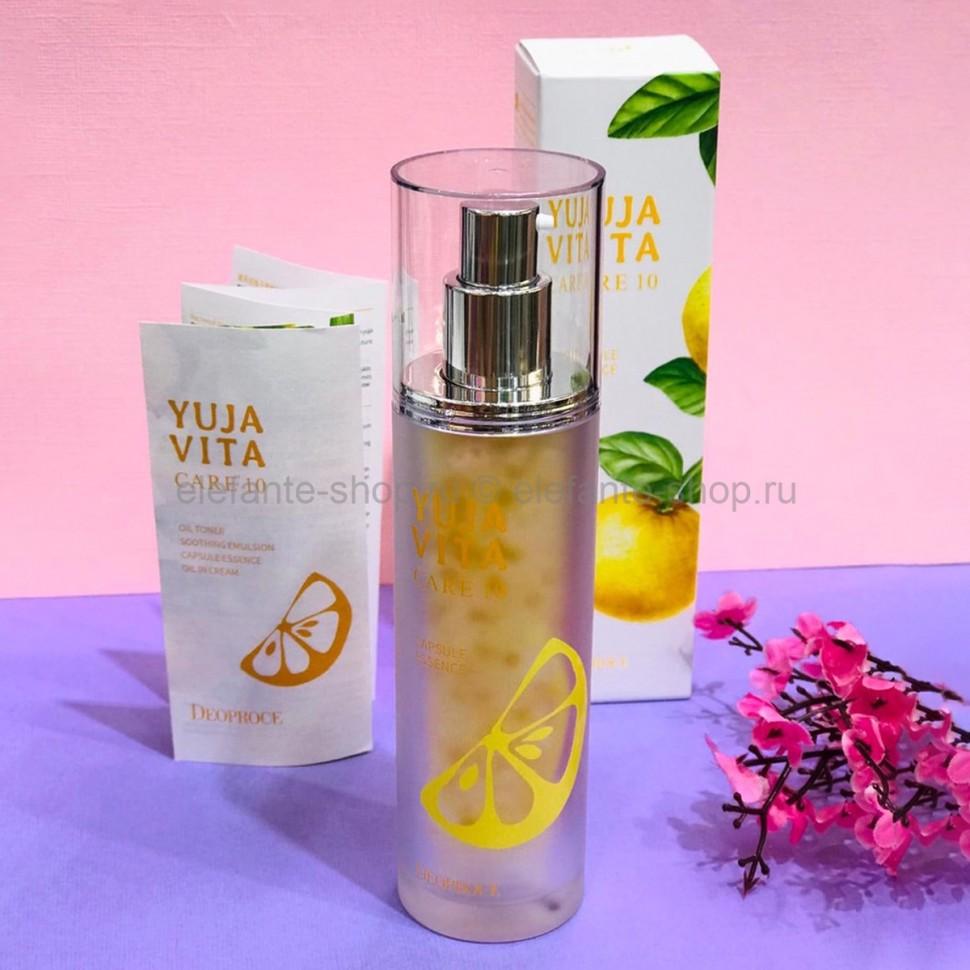 Капсульная эссенция Deoproce Yuja Vita Care 10 Capsule Essence, 50 гр (78)
