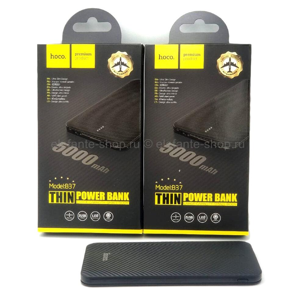 Внешний аккумулятор hoco B37 THIN 5000 mAh Black (15)