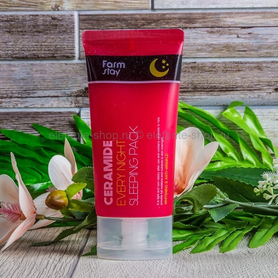 Ночная маска для лица с керамидами Farm Stay Ceramide Every Night Sleeping Pack
