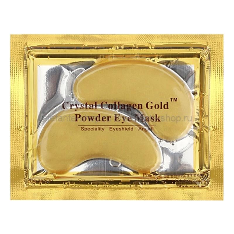 Гидрогелевые патчи для глаз с золотым комплексом Crystal Collagen Gold Eye Mask