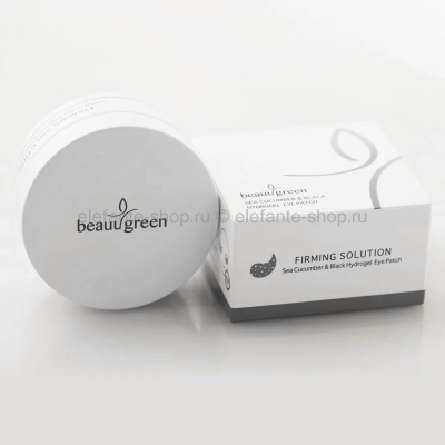 Патчи BeauuGreen Sea Cucumber & Black Hydrogel Eye Patch (125)
