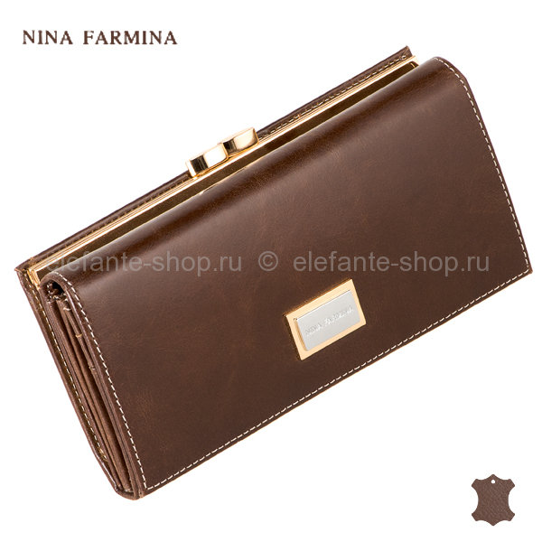Кошелёк Nina Farmina NF-9287 coffee