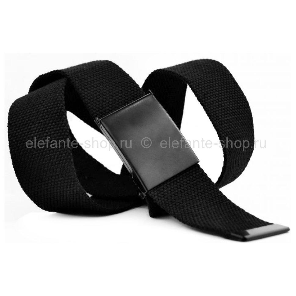 Ремень текстильный 40Stropa-024 black