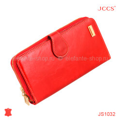 Кошелёк JCCS #JS1032 light red