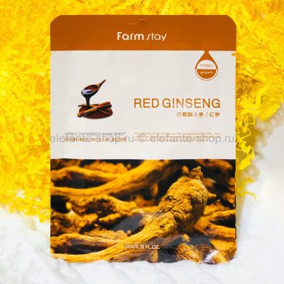 Маска Farmstay Red Ginseng Mask (78)