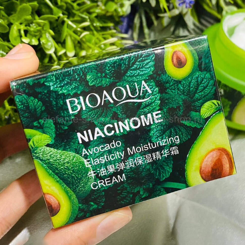 Крем BIOAQUA Niacinome Avocado Cream, 50 гр