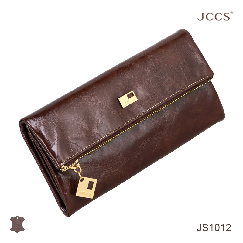 Кошелёк JCCS #JS1012 dark brown