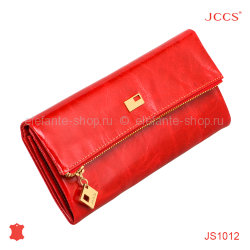 Кошелёк JCCS #JS1012 light red