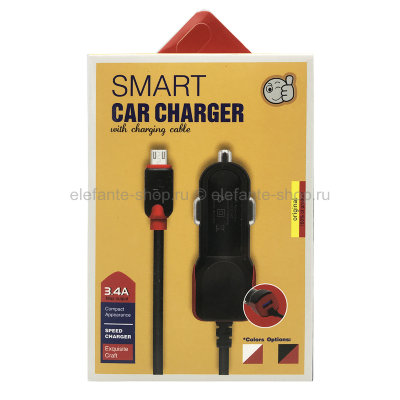 АЗУ SMART CAR CHARGER 3.4A