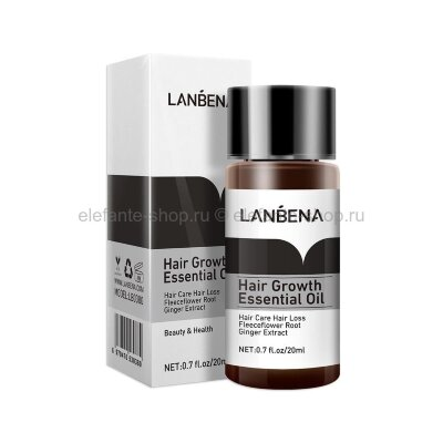 Масло для роста волос Lanbena Hair Growth Essential Oil, 20 мл
