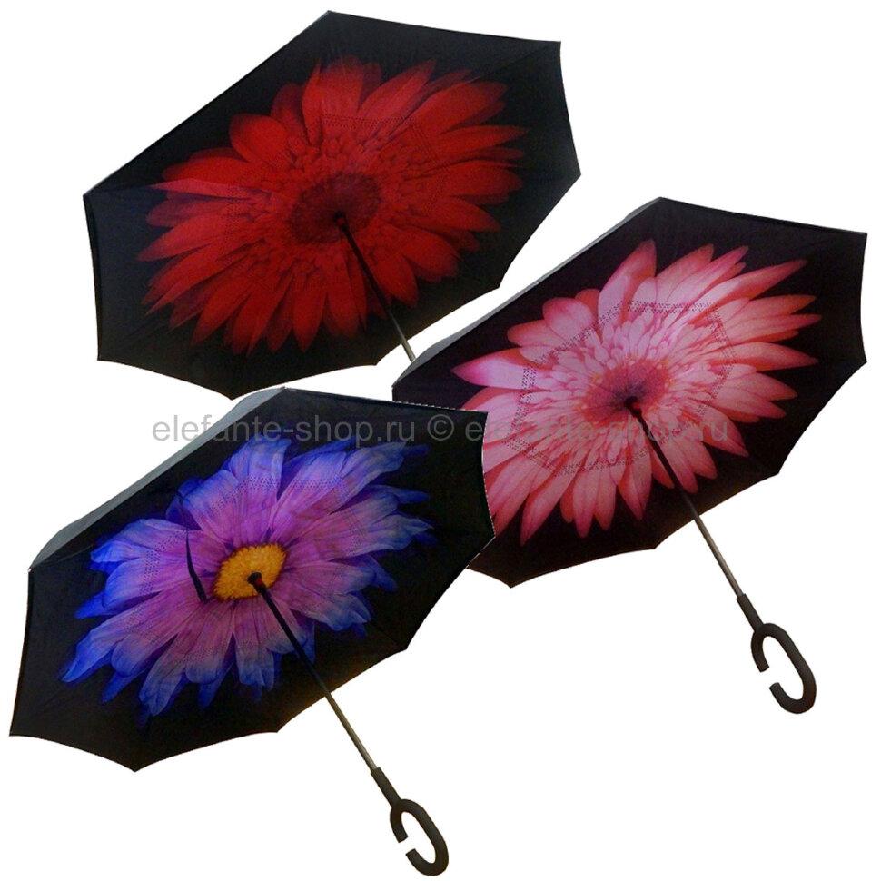 Умный зонт SmartZont Цветы, ZJ-063