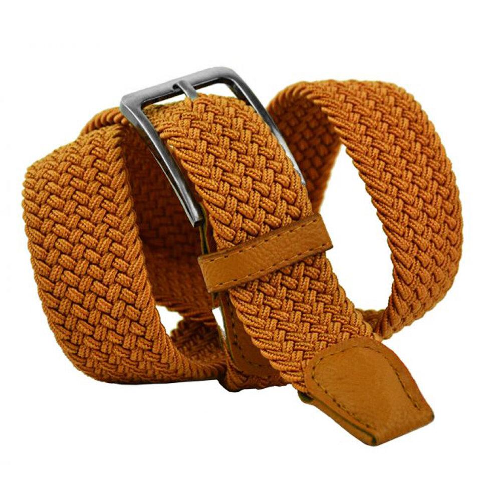 Ремень текстильный 35Rezinka-092 light brown