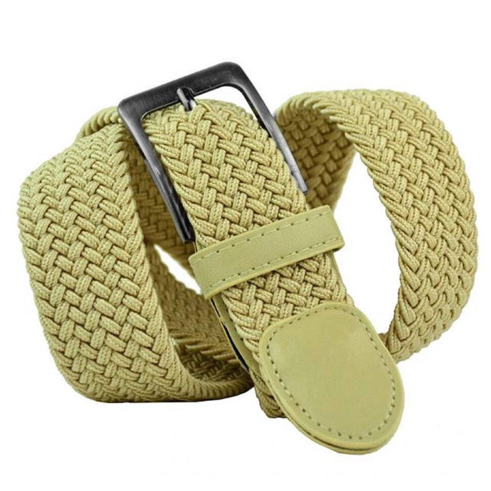 Ремень текстильный 35Rezinka-091 Beige