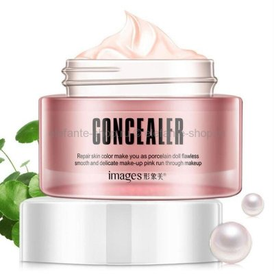 Крем консилер для лица IMAGES Concealer Pink Snow Muscle Lazy Cream 50 гр