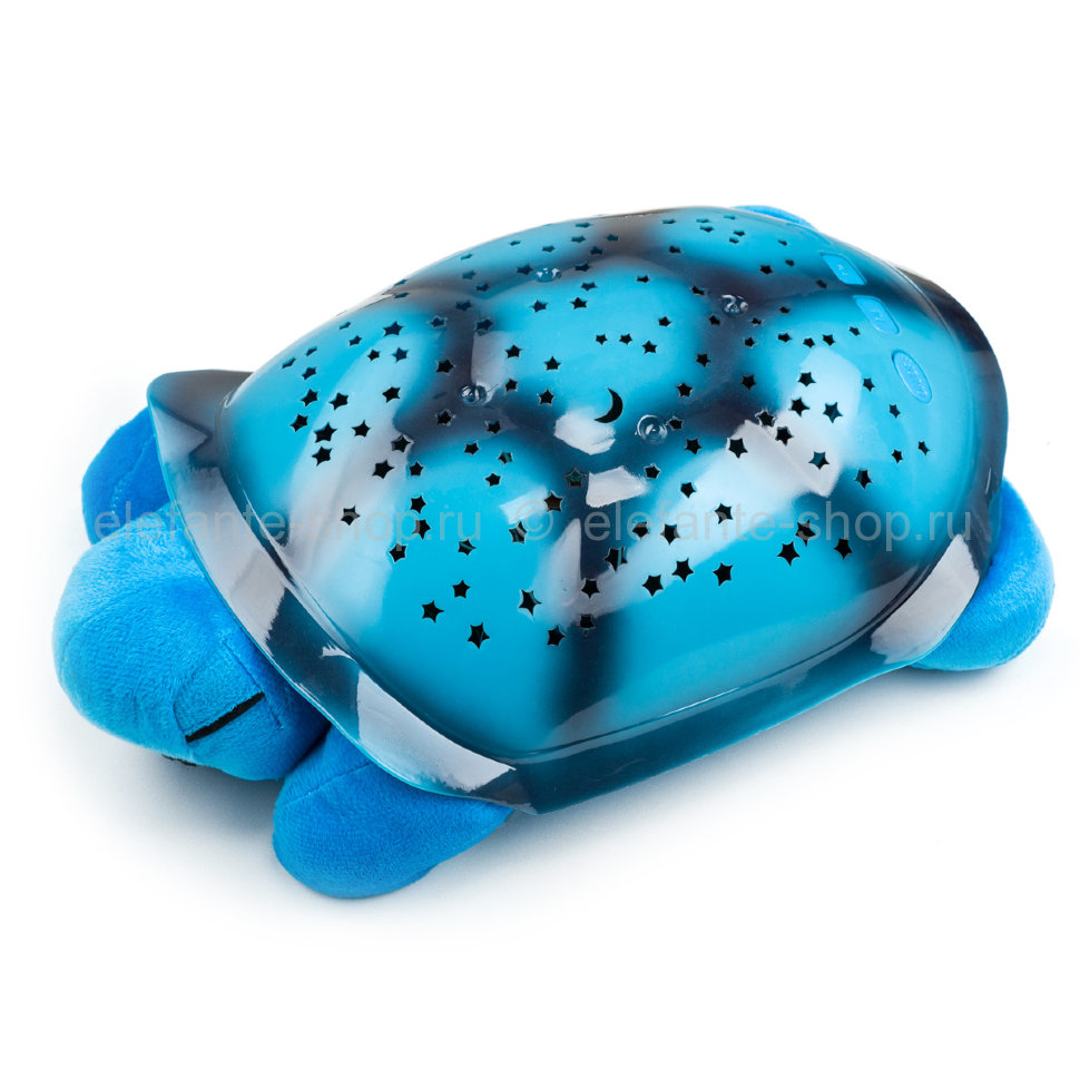 Ночник-проектор Turtle night sky constellations blue