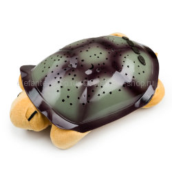 Ночник-проектор Turtle night sky constellations beige