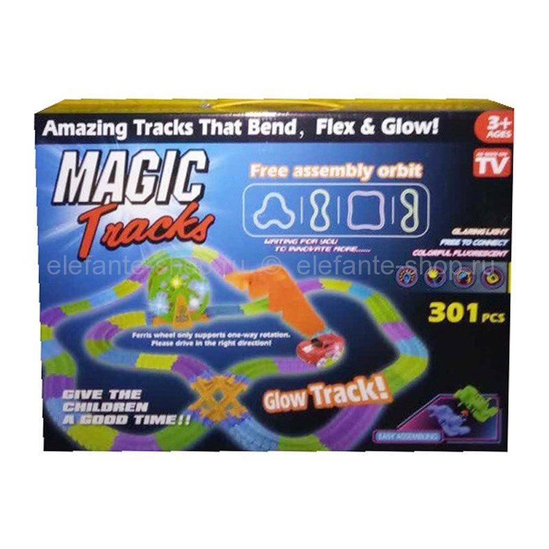 Гоночный трек Magic Tracks 301 деталь