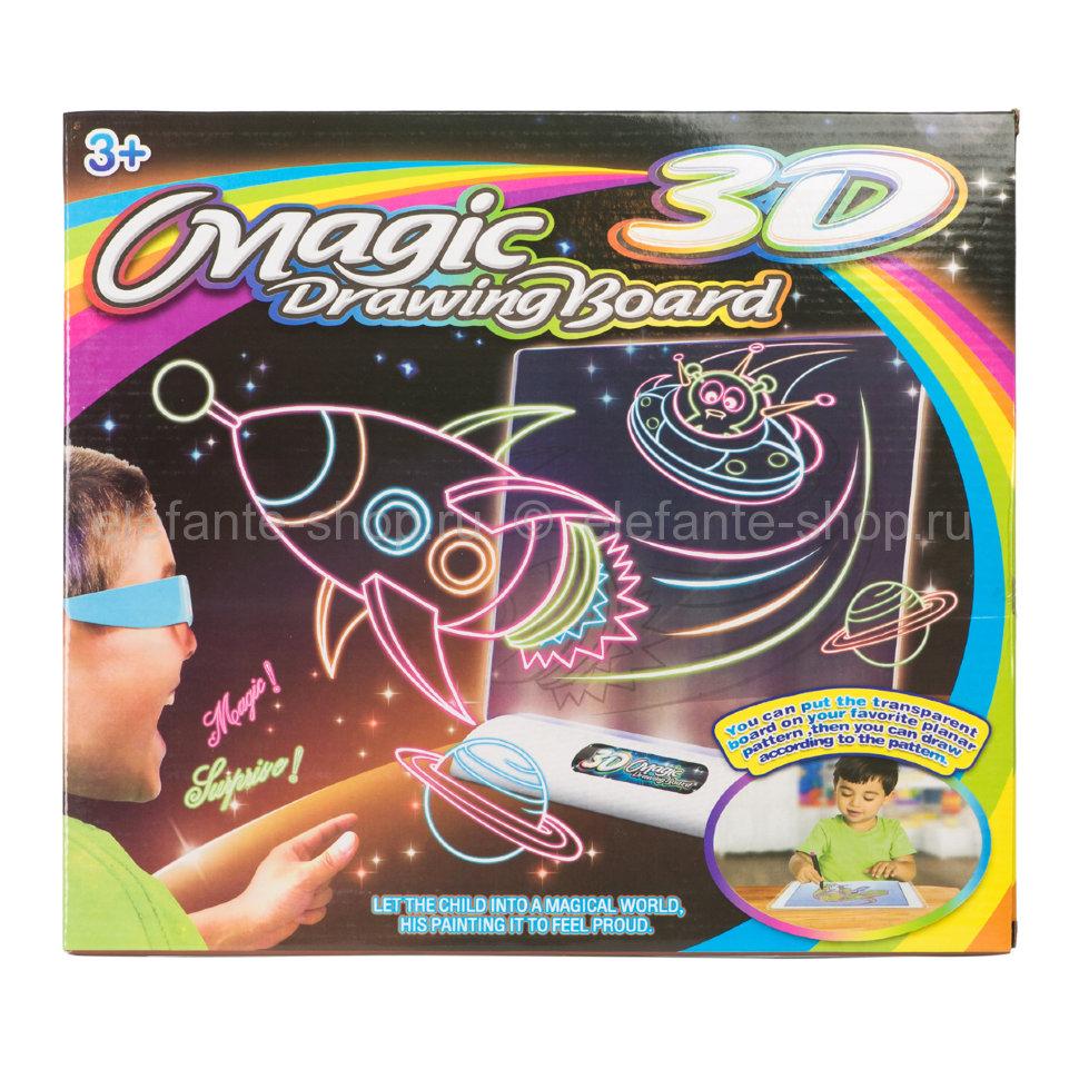 Доска для рисования Magic Drawing Board Space NO.YM124